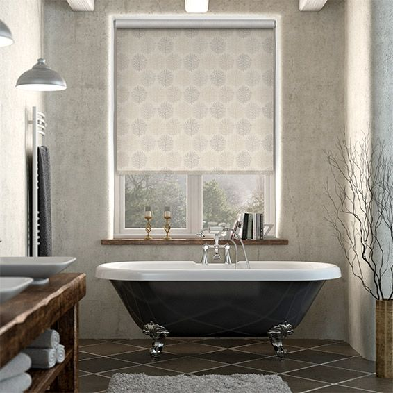 Choices Sprigs Woodland Neutral Roller Blind from Blinds 2go