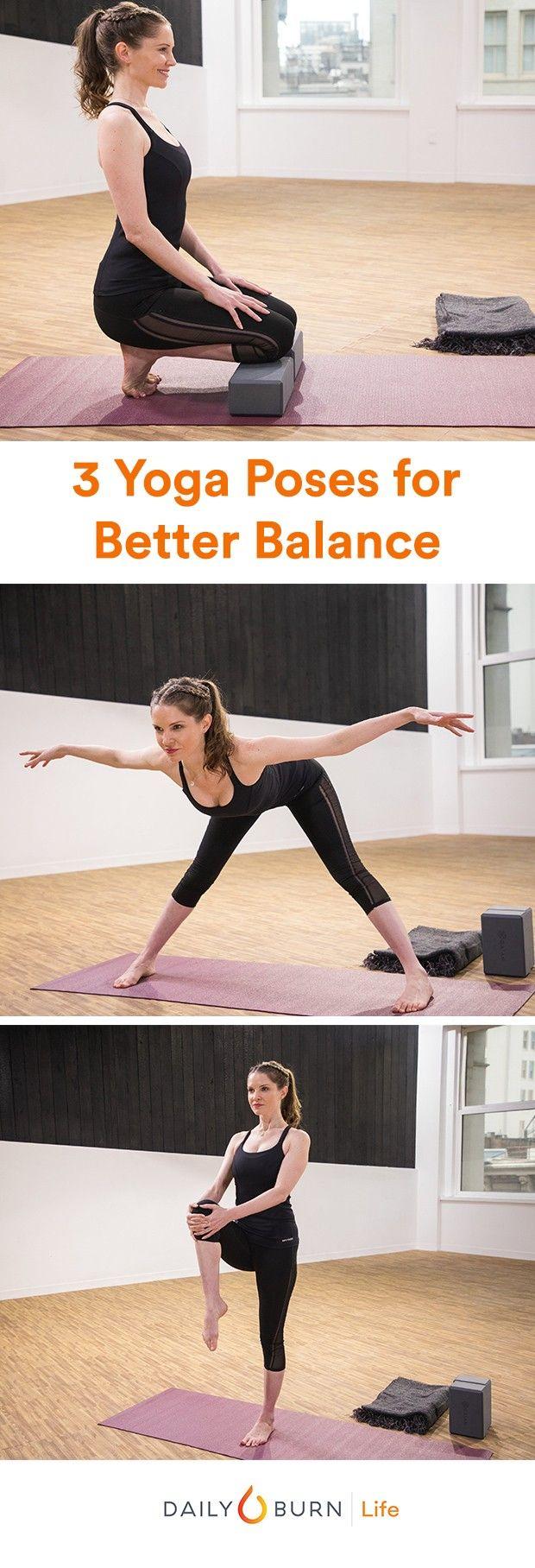 50 Beginner Yoga Poses for Better Balance   Yoga poses, Yoga poses ...