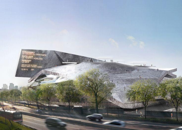 Jean Nouvel's Paris concert hall spared the axe