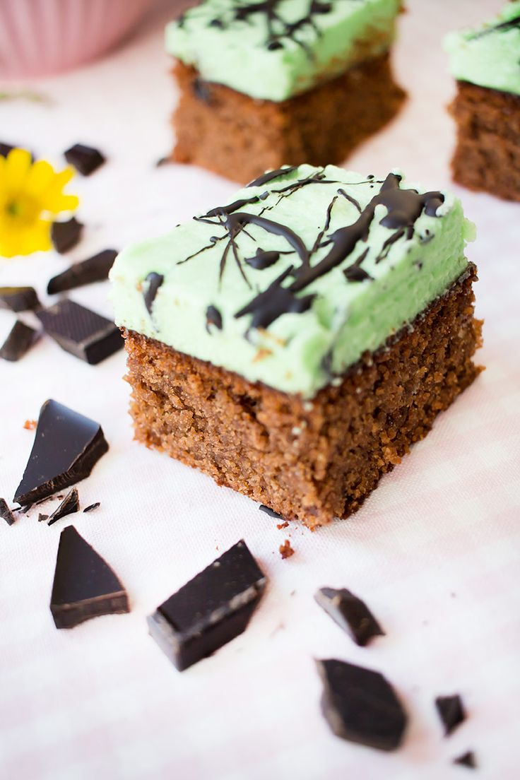 Low Carb Mint Brownies – Low Carb Köstlichkeiten