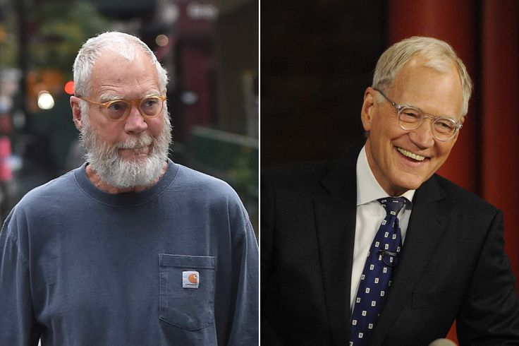 """Here's Why David Letterman Grew That Crazy Beard:  Letterman shocked the world on Monday when he took to the streets of New York wearing baggy gray clothes and sporting an unwieldy new beard — looking like a bedraggled Tom Hanks in """"Cast Away..."""