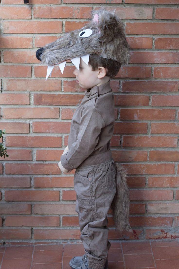 Disfraz de lobo DIY