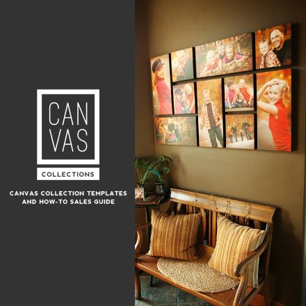 $29 for Canvas Collection Templates + How To Sales Guide from The Modern Collective {Save 81%} - Photo Deal Cafe - A division of Rock the Sh...