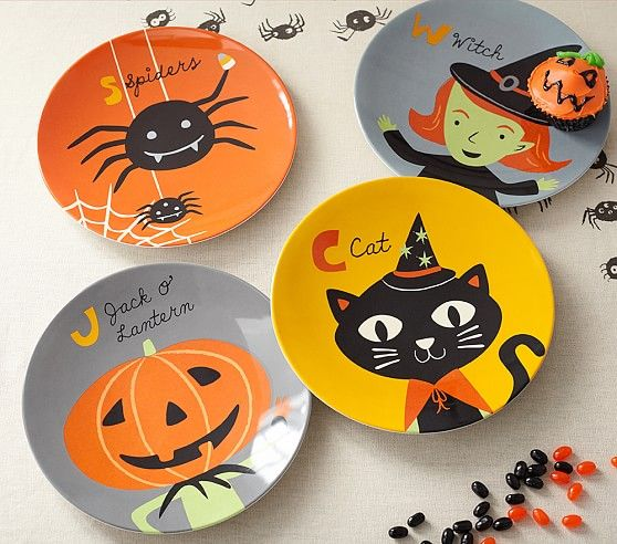 So happy to have my art on tabletop ware for Pottery Barn Kids!