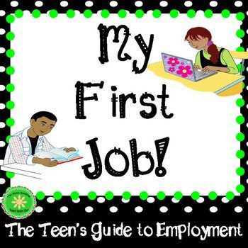 Once teens are old enough to begin to look for a part time job they often have many questions. This program will help prepare teens as they begin to look for their first job and is perfect for class lessons or individual student meetings! This program offers: Tips on how to find a job Guidance on how to complete a job application with a practice application form  Guidance on how to complete a resume and an editable WORD document to help students practice to create their own resumes 24 sample ...