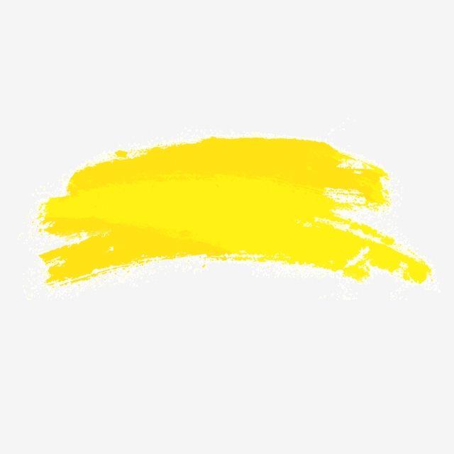 Amarillo Pincelada Degradado Brillo Pincel Textura Negocios Png