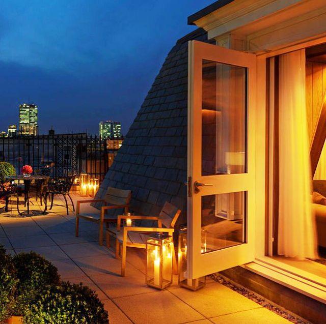 Rooftop in London