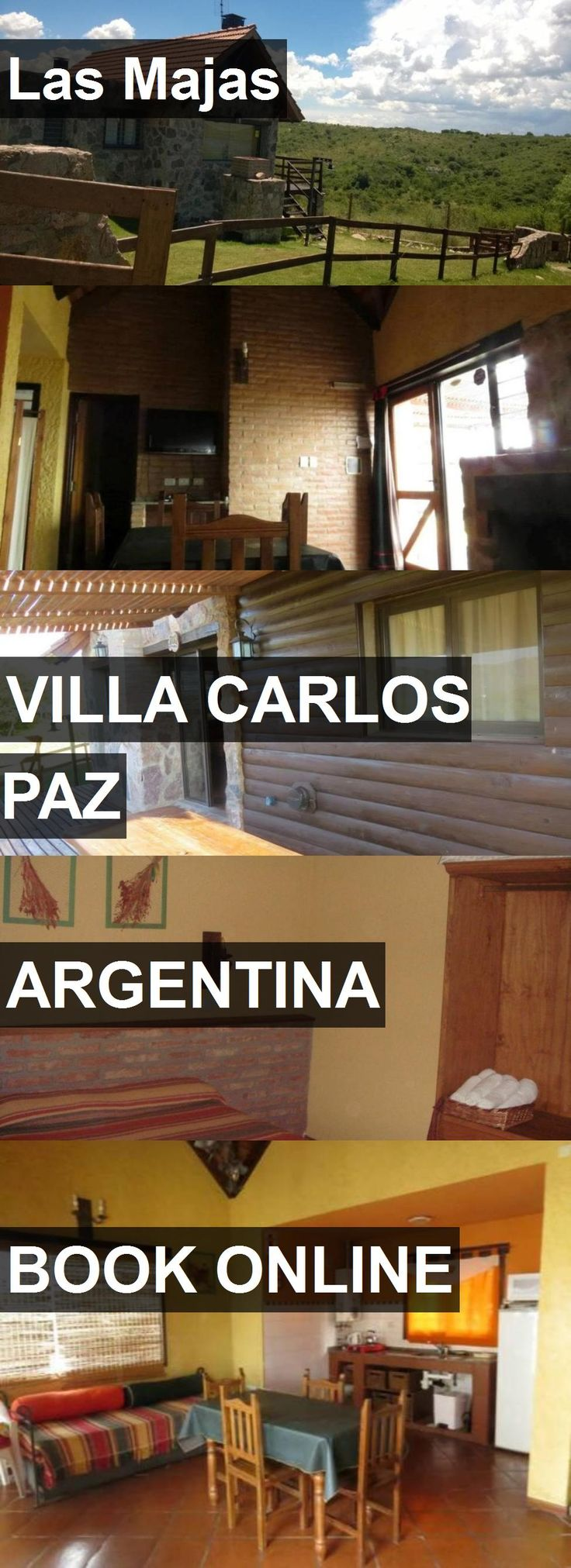 Hotel Las Majas in Villa Carlos Paz, Argentina. For more information, photos, reviews and best prices please follow the link. #Argentina #VillaCarlosPaz #travel #vacation #hotel