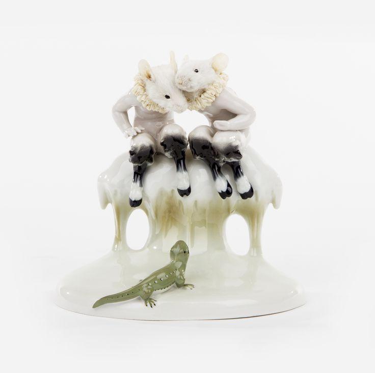 Les Deux Garçons - Jij durft! Tu en as de culot! (2014) | collection museum Beelden aan Zee.