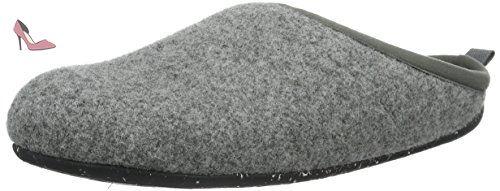 Camper Wabi, Chaussons femme - Gris (Dark Gray 061), 38 EU - Chaussures camper (*Partner-Link)