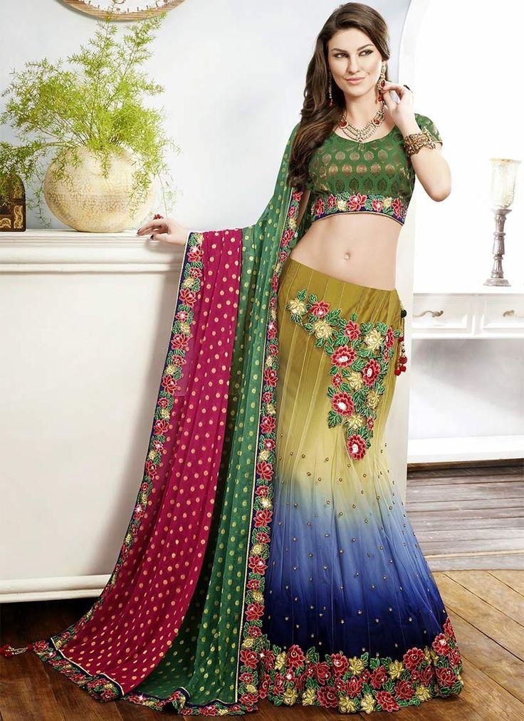 how to wear saree fish cut