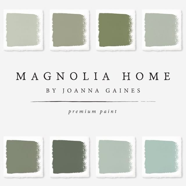 517 best paint colors green images on pinterest colored for Magnolia home paint colors