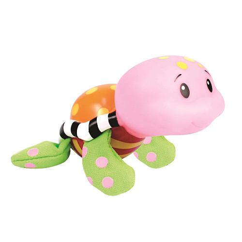 "Sassy Tiny Tubtime Turtle Bath Squirters with Eggshell Scooper - Coral - Sassy - Toys ""R"" Us"