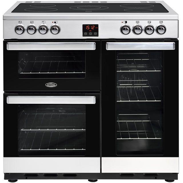 Cookcentre90DFTProf_SS   Belling range cooker   ao.com