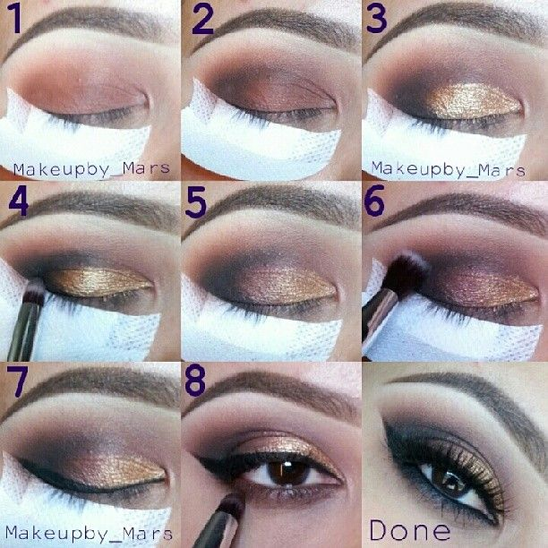 How To Apply Eye Makeup For Wedding Day | Makeupview.co