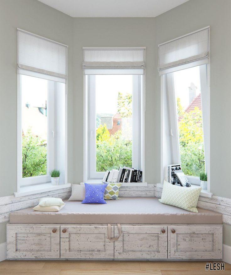 Дизайн дома в стиле прованс   Студия LESH (мансарда, большие окна, Provence, гостиная