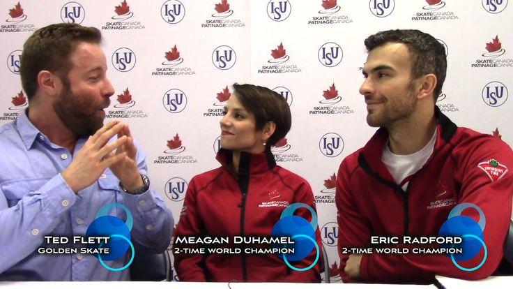 Golden Skate interview with Meagan Duhamel & Eric Radford