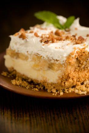 paula deen banana split cakeFun Recipe, Food, Paula Deen Desserts, Best Cake Filling, Bananas Split, Yummy, Split Cake, Pauladeen, Deen Bananas