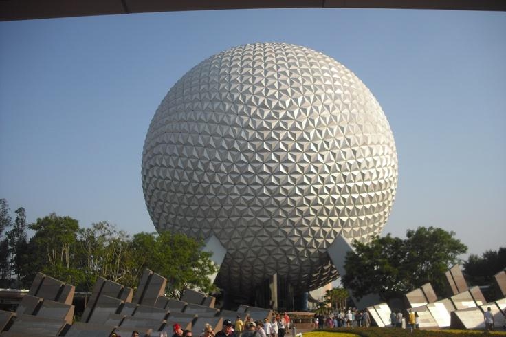 Epcot Big Ball Disney