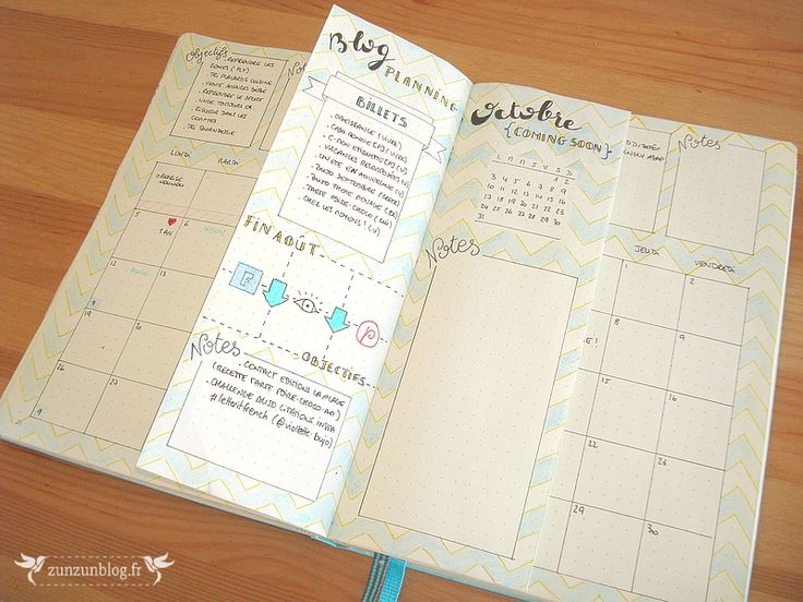 Monthly Log Bullet Journal Septembre #3