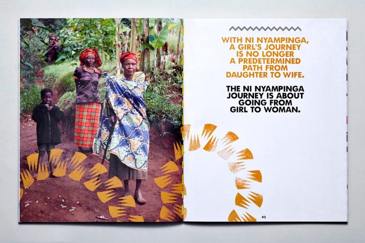Ni Nyampinga, Rwanda's first publication for girls - brand and print design by HarrimanSteel