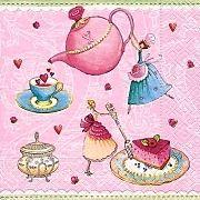 Ubrousek - Malá čajová párty