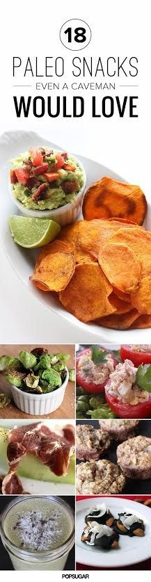 Going Paleo? These tasty and filling snack ideas will become your new favorites.