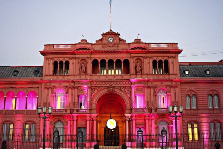 BUENOS AIRES, ARGENTINA: LA CASA ROSADA