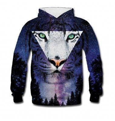 Tiger Hoodie - Bitter Sweet Clothing