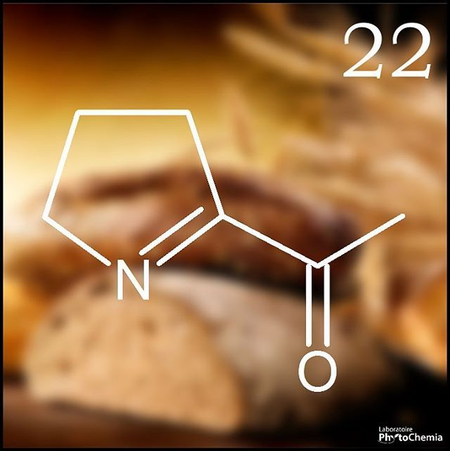 25 days of #PhytoChristmas : Chemistry Edition ! ********************************************** Compound partly responsible for the aroma of freshly baked bread. What am I?  Yesterday's answer : Myristicin  #phytochemia #teamphytochemia #phytofamous #laboratory #lab #essentialoils #chemistryisfun #scienceisfun #phytochemistry #saguenay #quebec #phyto #scienceoninstagram #chemist #chemistry #scientist #sciencelover #naturalproducts #instascience #uqac