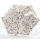 5段折り畳み傘  日傘  ミニ傘  傘  レディース傘