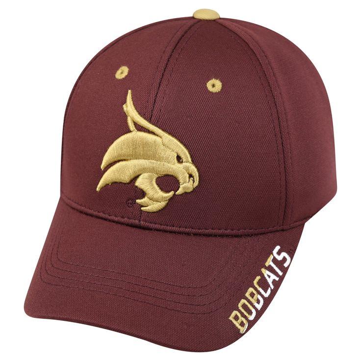 NCAA Baseball Hats Texas State Bobcats Red, Men's