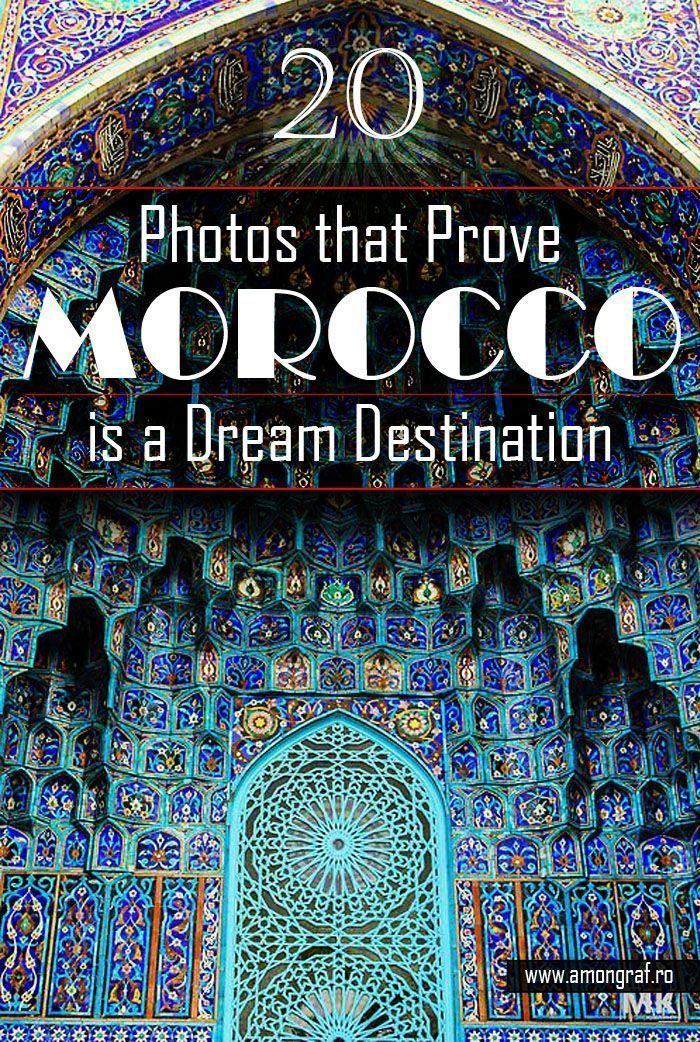 20 Photos that Prove Morocco is a Dream Destination - Film and Books