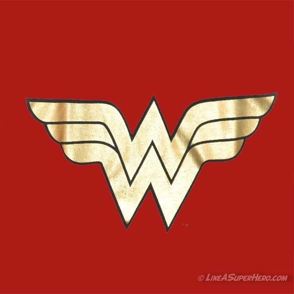 Wonder Woman Logo | ... et Personnages > WONDER WOMAN™ > T-Shirt Wonder Woman Classic Logo                                                                                                                                                                                 Plus