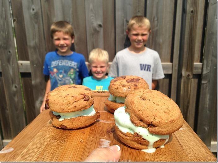 udis gluten free ice-cream cookie sandwich