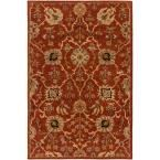 Middleton Allison Rust (Red) 7 ft. 6 in. x 9 ft. 6 in. Indoor Area Rug