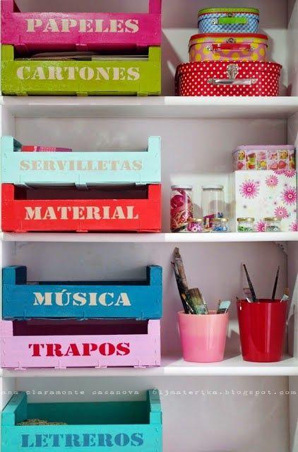 con cajas de fresasDecoracion Hogar - Decoracion Diy-Manualidades - Comunidad - Google+