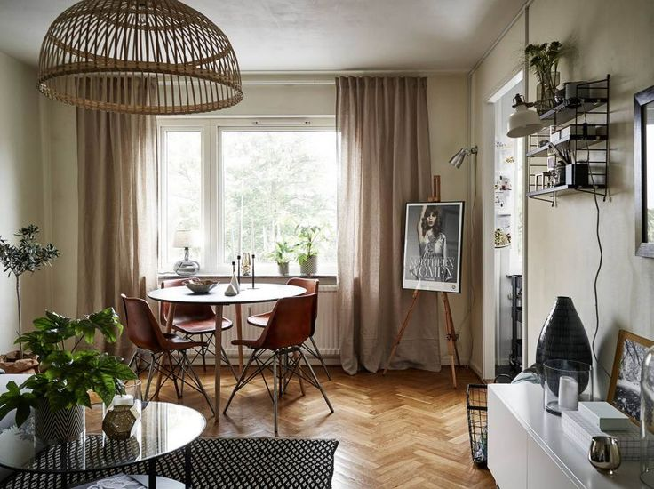Captivating 30m2. Studio ApartmentsScandinavian StyleScandinavian InteriorsInterior  IdeasInterior ...