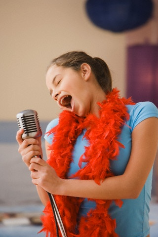 Take singing lessons - I'd like to improve enough so that I'm not embarrassed to sing in the shower...