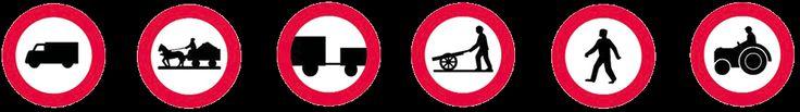σηματα κοκ - Όλα τα σήματα του ΚΟΚ - Ρυθμιστικές πινακίδες 3