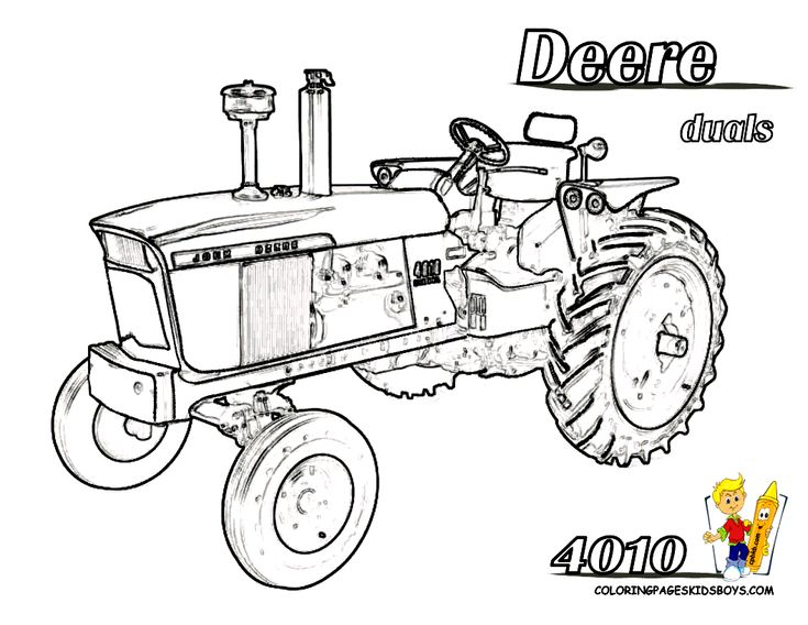 Best 25+ Tractor coloring pages ideas only on Pinterest