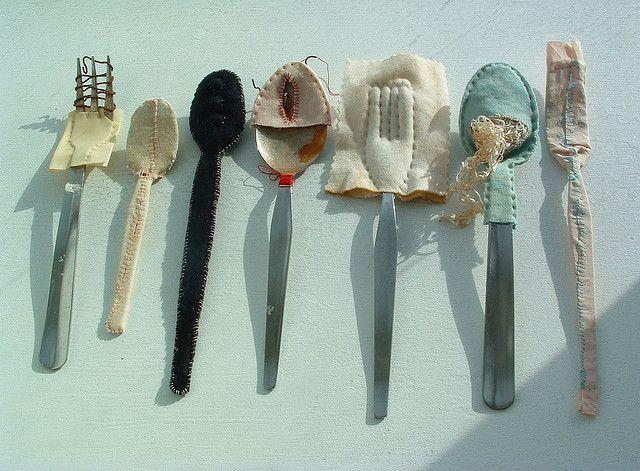 cutlery_unframed by Laura Jaine