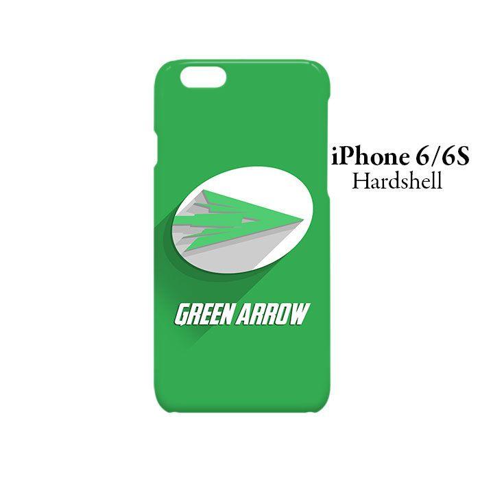 Green Arrow Logo Superhero iPhone 6/6s Hardshell Case
