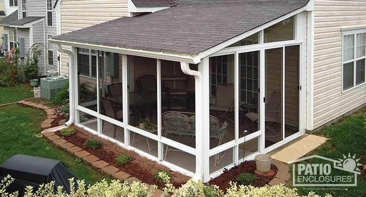 Screen Room & Screened In Porch Designs & Pictures | Patio Enclosures More