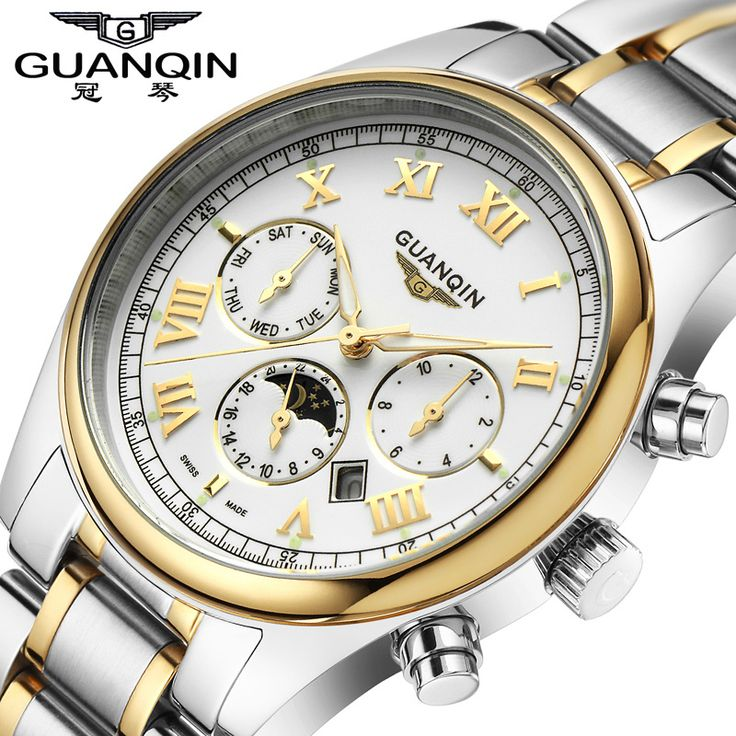 Check this product! Only on our shops   Relogio masculino Guanqin watches men luxury brand mechanical watch clock full steel watch reloj men casual business wristwatch - US $46.11 http://myjewelrywatches.com/products/relogio-masculino-guanqin-watches-men-luxury-brand-mechanical-watch-clock-full-steel-watch-reloj-men-casual-business-wristwatch/