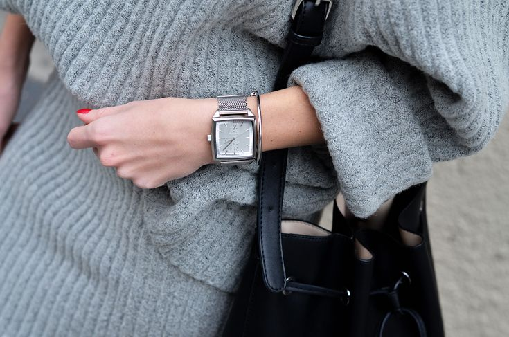 Knit Co-ord | Fifty Pairs Of Shoes #Fjord #watches #bucketbag #coords #grey