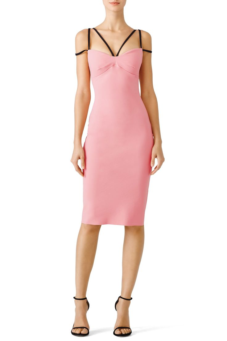 Rent Pink Brie Dress by La Petite Robe di Chiara Boni for $75 - $95 only at Rent the Runway.