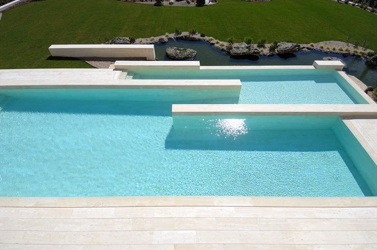 beautiful pool design:  House in Pozuelo by A-cero architecture studio