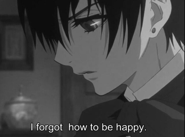 Anime Ciel Phantomhive Male Depressed Numb - Google Search