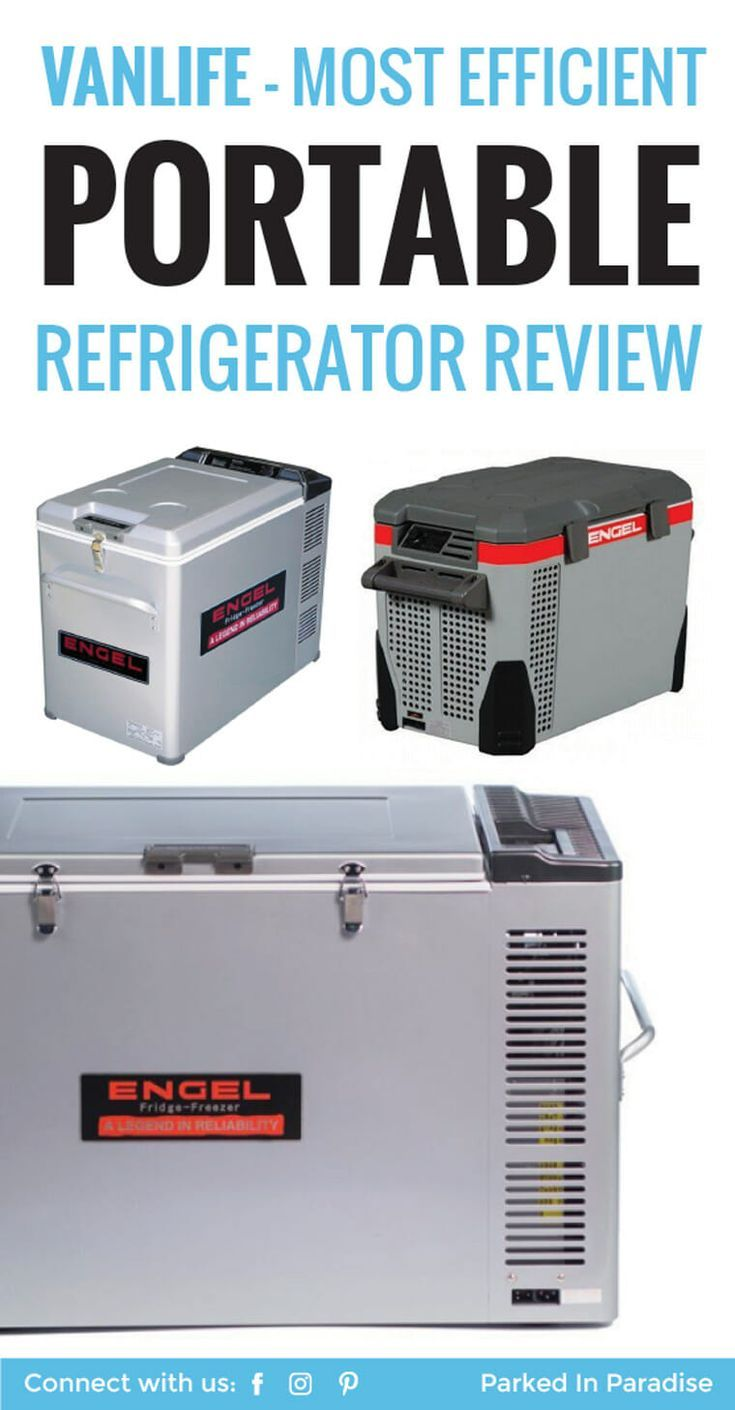 The Most Efficient Fridge For Vanlife Engel Portable Refrigerator Review Portable Refrigerator Van Life Van